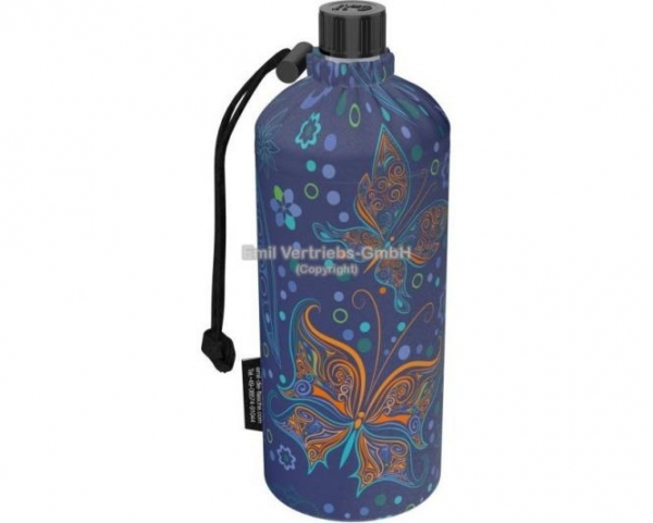Emil Butterfly Glasflasche 0,4l
